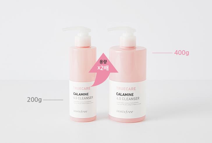 이니스프리-트루케어 칼라민 6.5 클렌저 (대용량)-용량 X2배