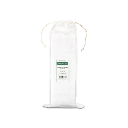 Premium cotton pads for toner