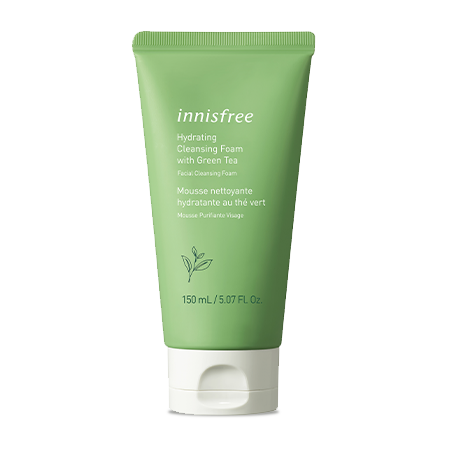 Hydrating Cleansing Foam with Green Tea