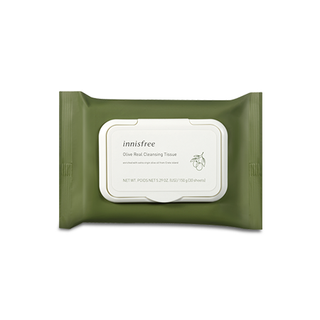 Olive Real Cleansing Tissue