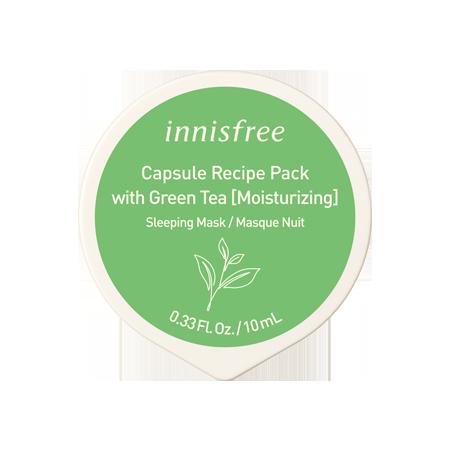 Green Tea Capsule Recipe Pack