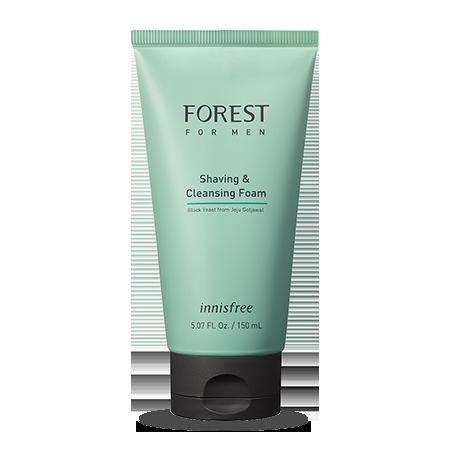 森林男士保濕剃鬚潔面膏
