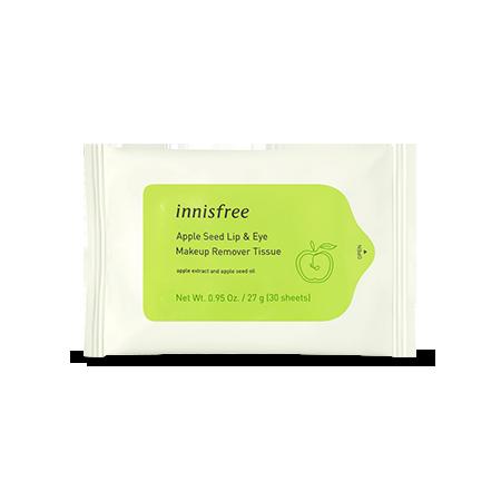 青蘋果籽重點卸妝濕紙巾