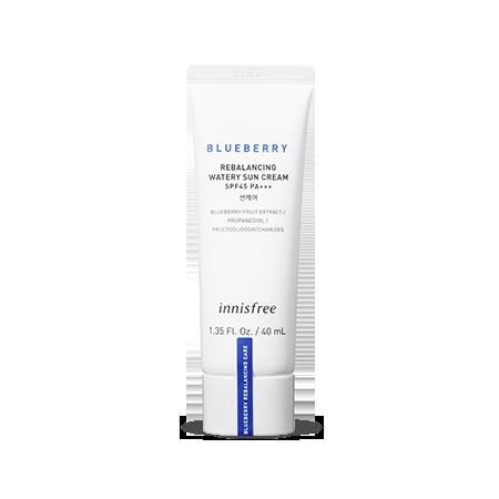 藍莓癒肌平衡防曬霜 SPF45 PA+++ (物理防曬)