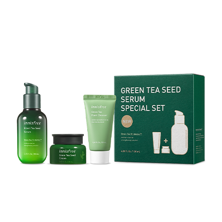 第4代 #綠茶籽精華 全效保濕套裝