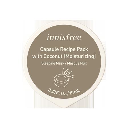 Coconut Capsule Recipe Pack