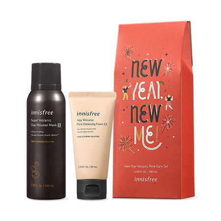 New Year Volcanic Pore Care Set