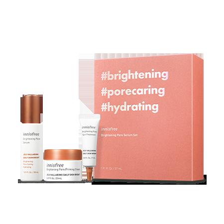 Brightening Pore Serum Set