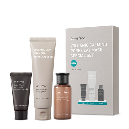 Volcanic Calming Pore Clay Mask Special Set