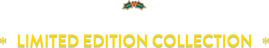 GREEN CHRISTMAS 2018 / LIMITED EDITION COLLECTION