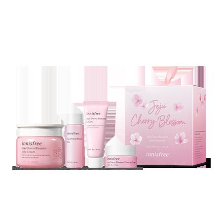 Jeju Cherry Blossom Jelly Cream Set